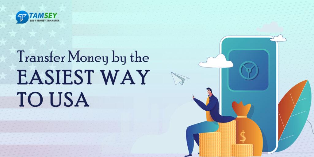 easy money transfer to USA